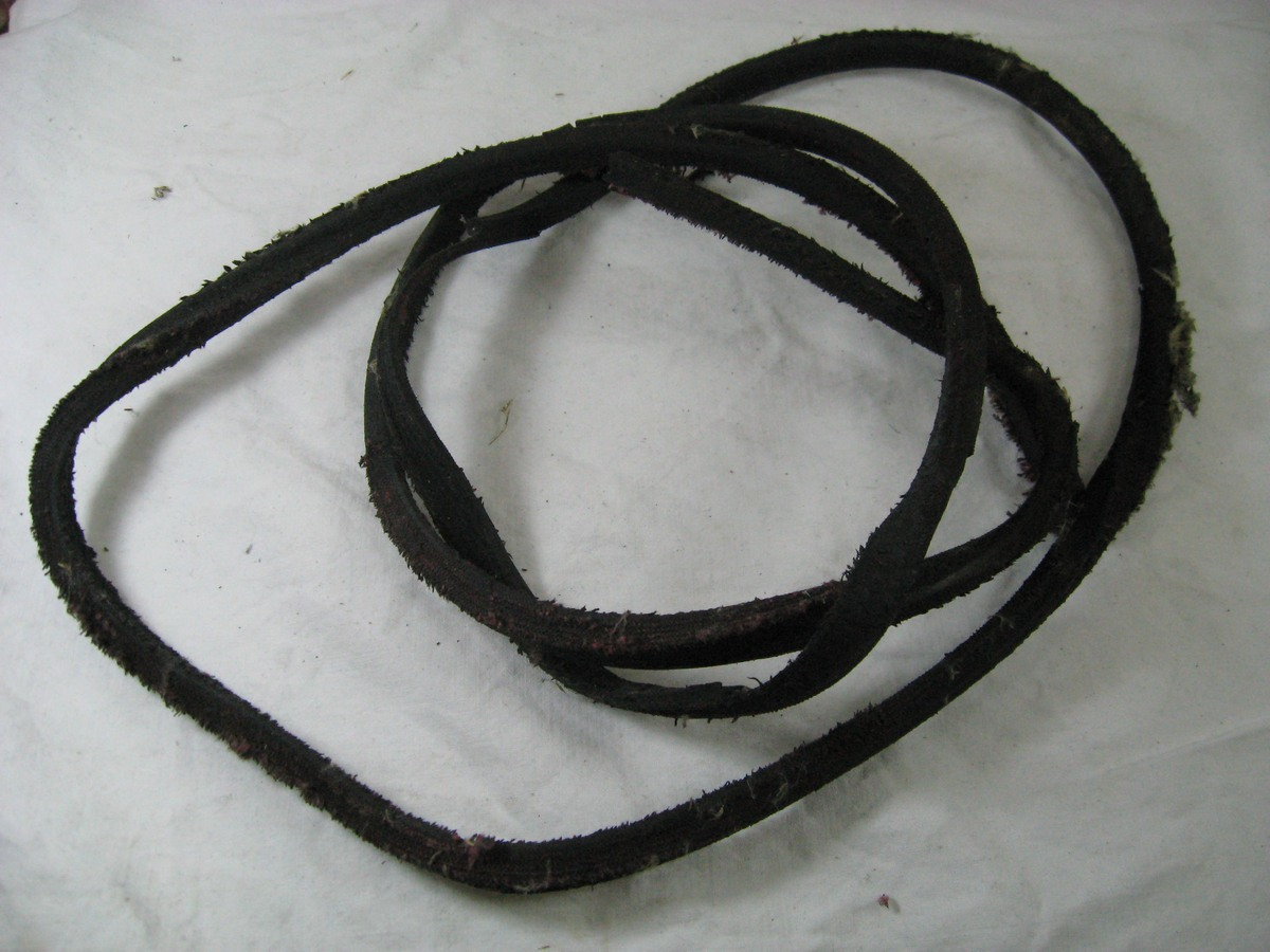 The old belt for the grass cutter.