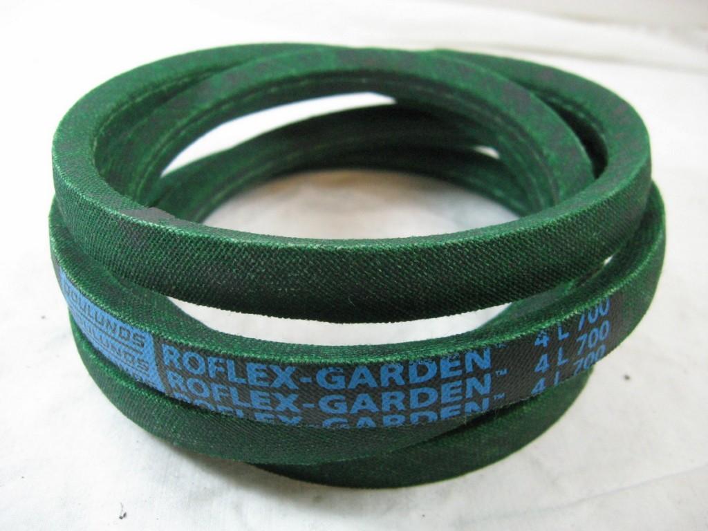 The new belt to the grass cutter.