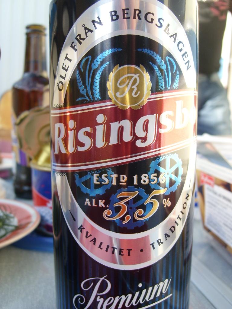 Risingsbro 3.5 - Lämplig dryck